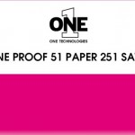 ONE Proof 51 Paper 251 SATIN